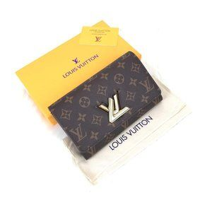 Louis vuitton wallet twist %100 original leather W